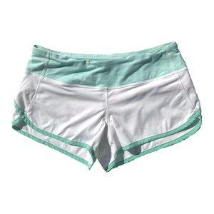 Lululemon Shorts Wee Stripe White Menthol